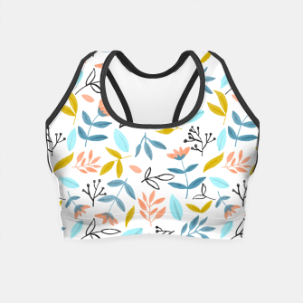 Thumbnail image of Proud Florals Crop Top, Live Heroes