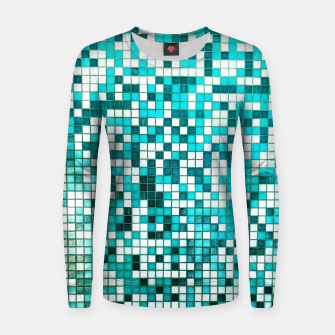 Thumbnail image of Pool Tiles Women sweater, Live Heroes
