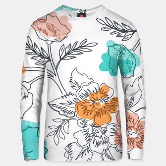 Miniaturka Floral Thoughts Unisex sweater, Live Heroes
