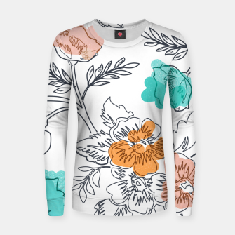 Floral Thoughts Women sweater thumbnail image