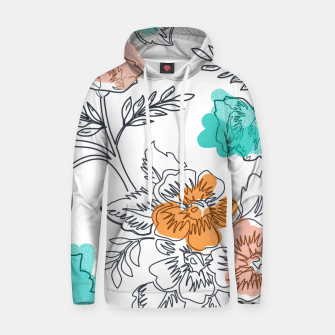 Floral Thoughts Hoodie thumbnail image