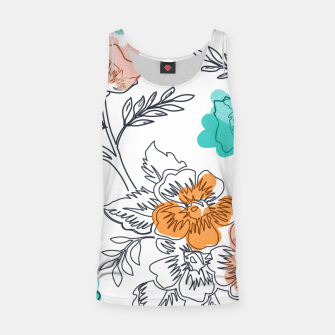 Thumbnail image of Floral Thoughts Tank Top, Live Heroes