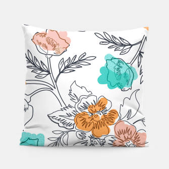 Floral Thoughts Pillow thumbnail image