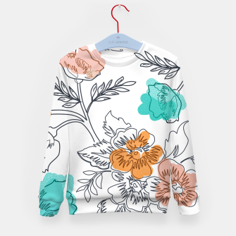 Floral Thoughts Kid's sweater thumbnail image