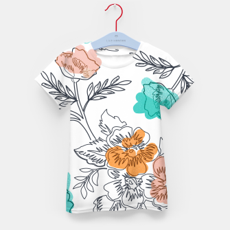 Floral Thoughts Kid's t-shirt thumbnail image
