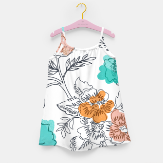 Floral Thoughts Girl's dress thumbnail image
