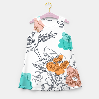 Floral Thoughts Girl's summer dress thumbnail image