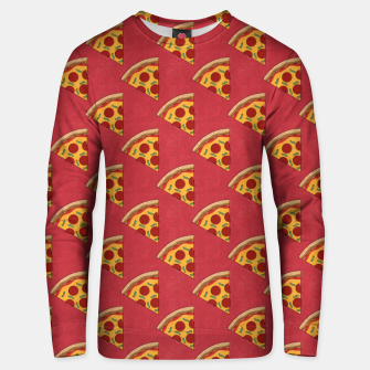 Thumbnail image of FAST FOOD / Pizza - pattern Unisex sweater, Live Heroes