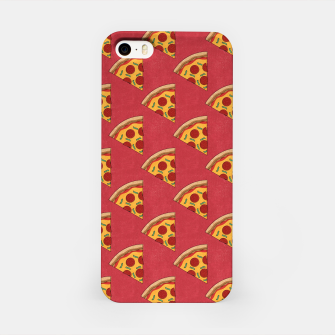 FAST FOOD / Pizza - pattern iPhone Case thumbnail image