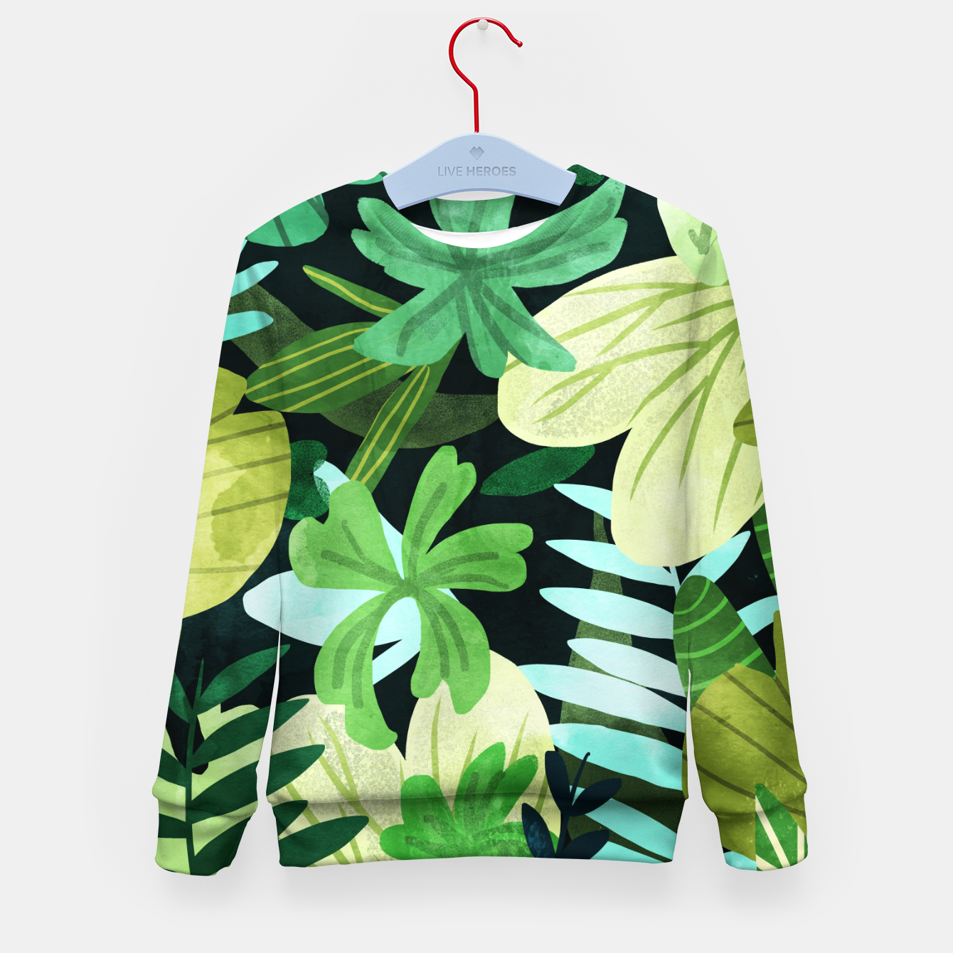 Image of Rainforest II Kid's sweater - Live Heroes