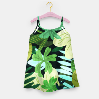 Rainforest II Girl's dress thumbnail image
