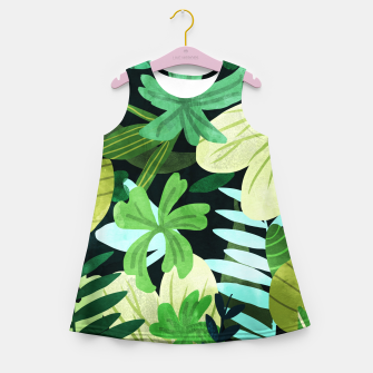 Rainforest II Girl's summer dress thumbnail image