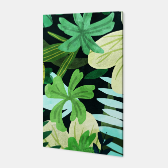 Miniatur Rainforest II Canvas, Live Heroes