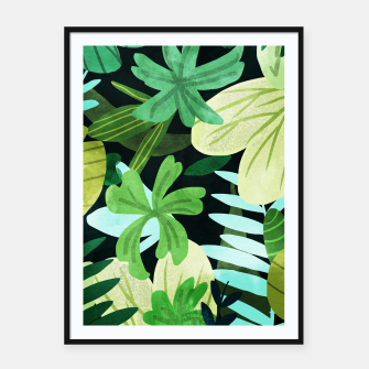 Thumbnail image of Rainforest II Framed poster, Live Heroes