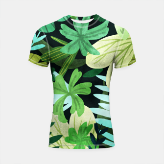 Thumbnail image of Rainforest II Shortsleeve rashguard, Live Heroes