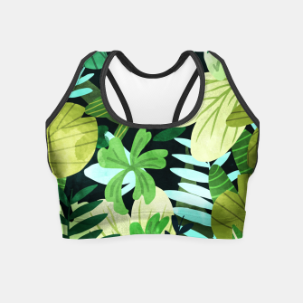 Miniatur Rainforest II Crop Top, Live Heroes