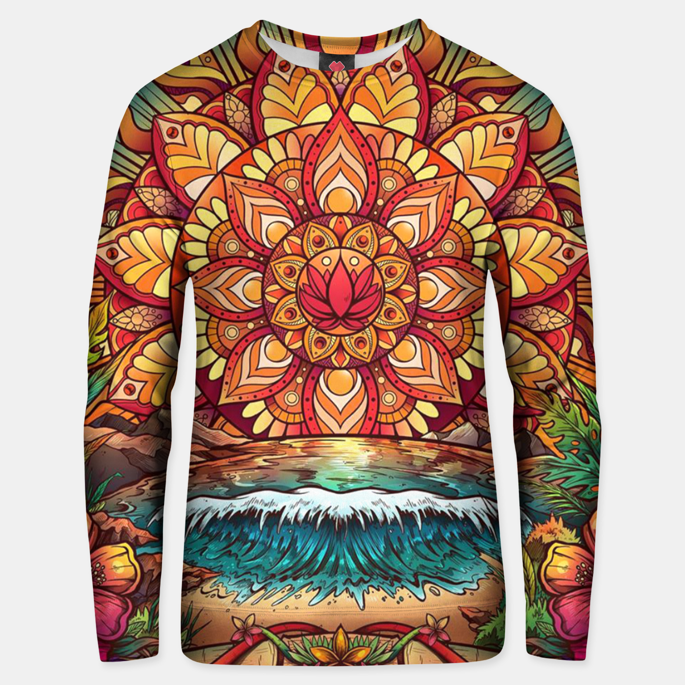 Image of The Fountain Unisex sweater - Live Heroes