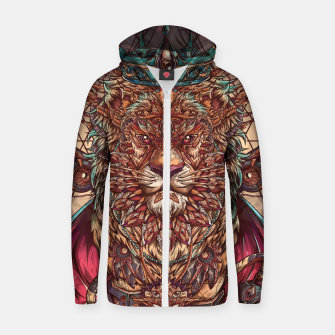 The King of All Zip up hoodie thumbnail image