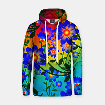 Abstract Floral Hoodie thumbnail image