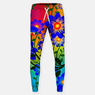 Thumbnail image of Abstract Floral Sweatpants, Live Heroes
