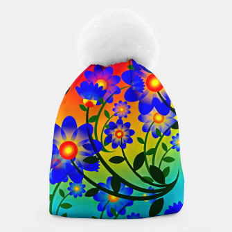 Abstract Floral Beanie thumbnail image