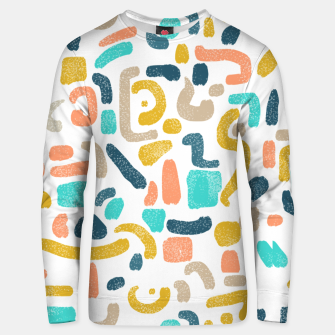 Thumbnail image of Alphabet Soup Unisex sweater, Live Heroes
