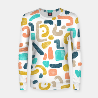 Thumbnail image of Alphabet Soup Women sweater, Live Heroes