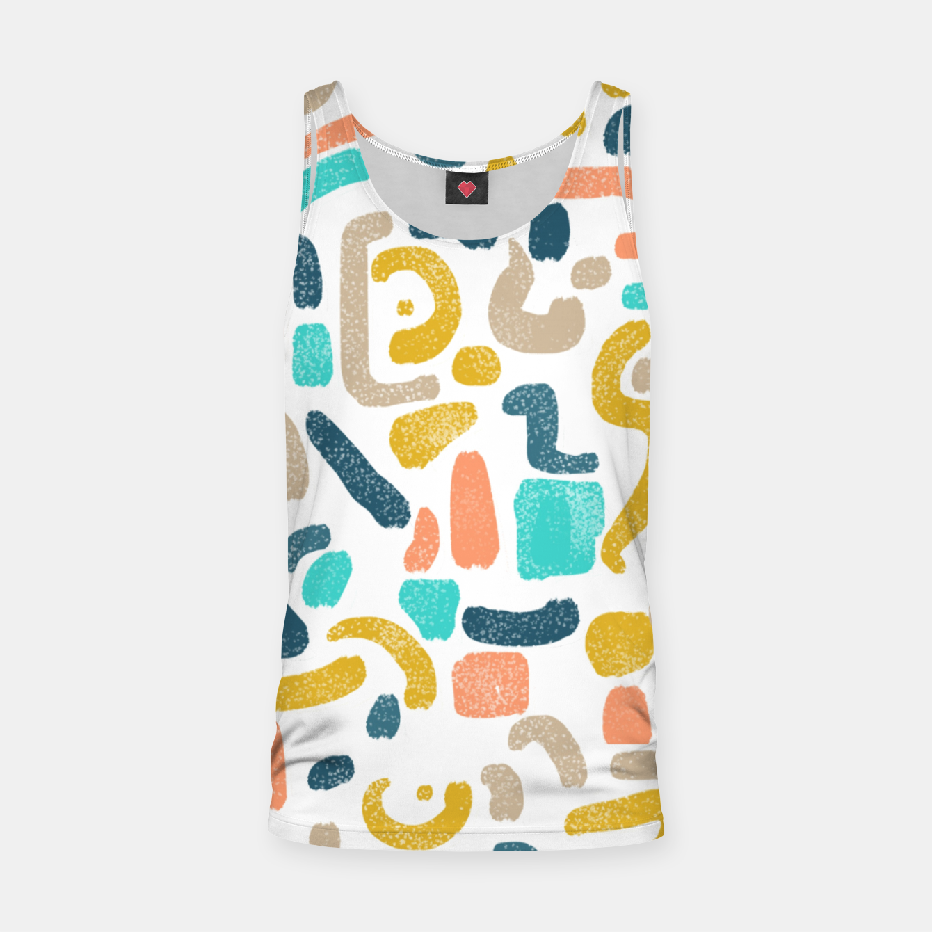 Image of Alphabet Soup Tank Top - Live Heroes
