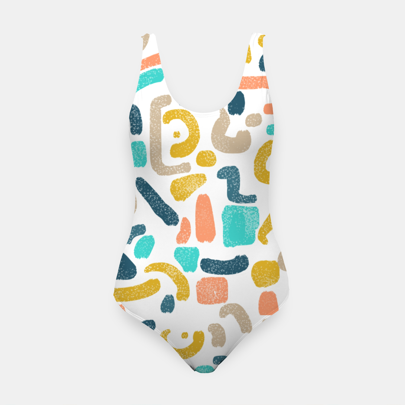 Image of Alphabet Soup Swimsuit - Live Heroes