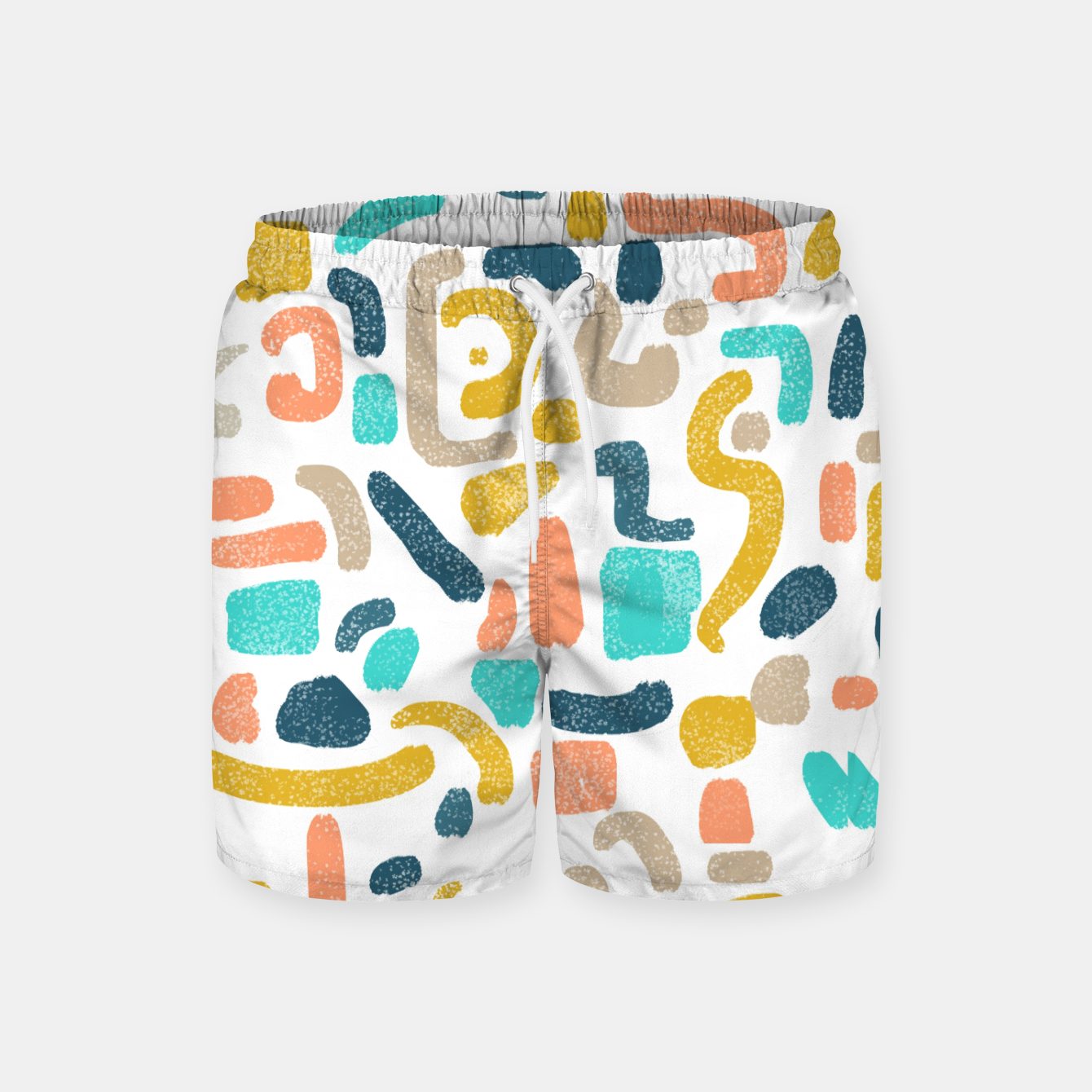 Image of Alphabet Soup Swim Shorts - Live Heroes