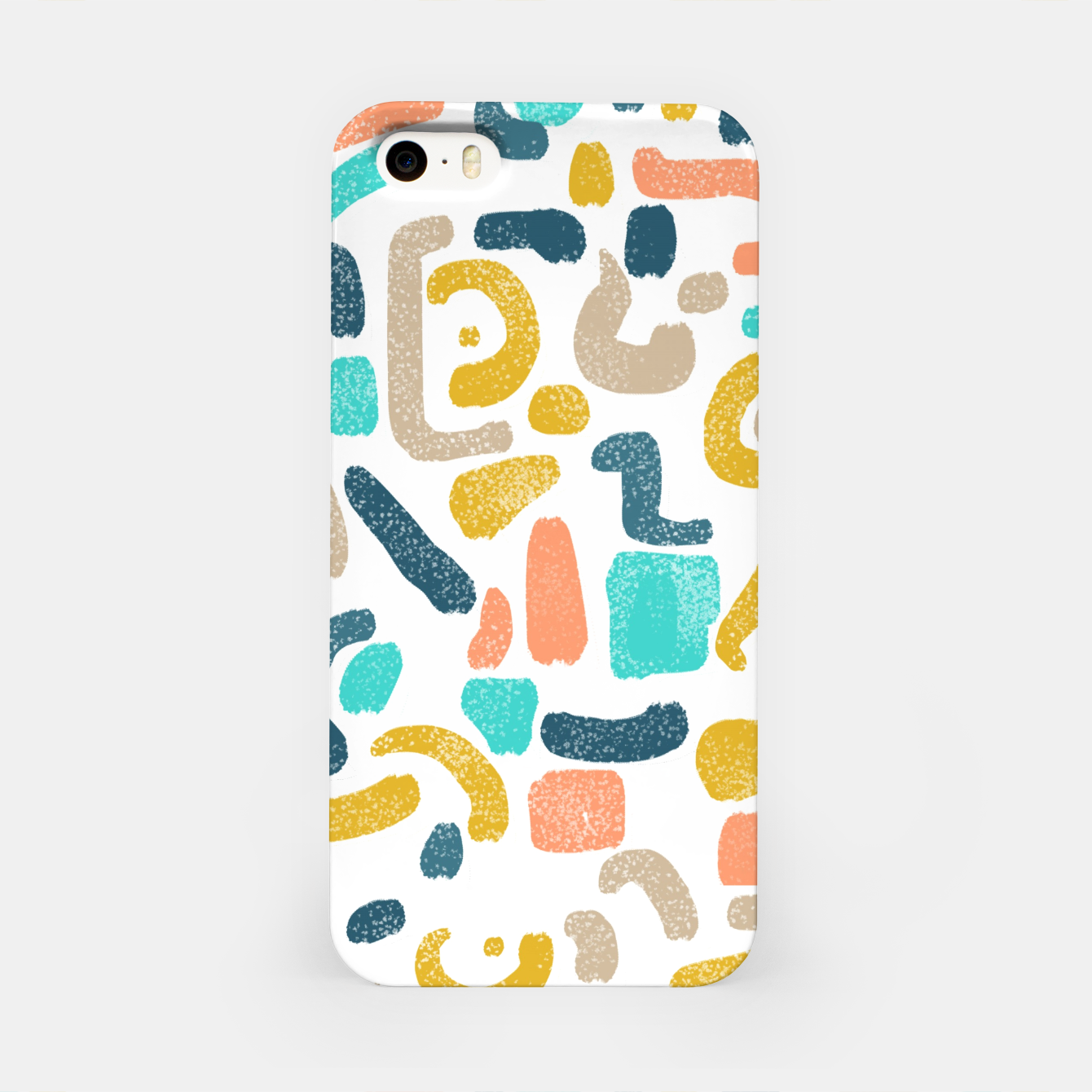 Image of Alphabet Soup iPhone Case - Live Heroes