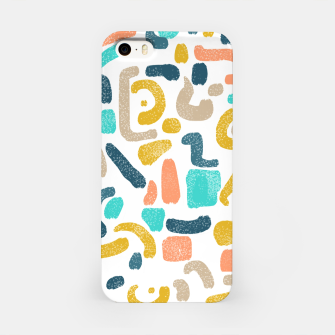 Miniatur Alphabet Soup iPhone Case, Live Heroes