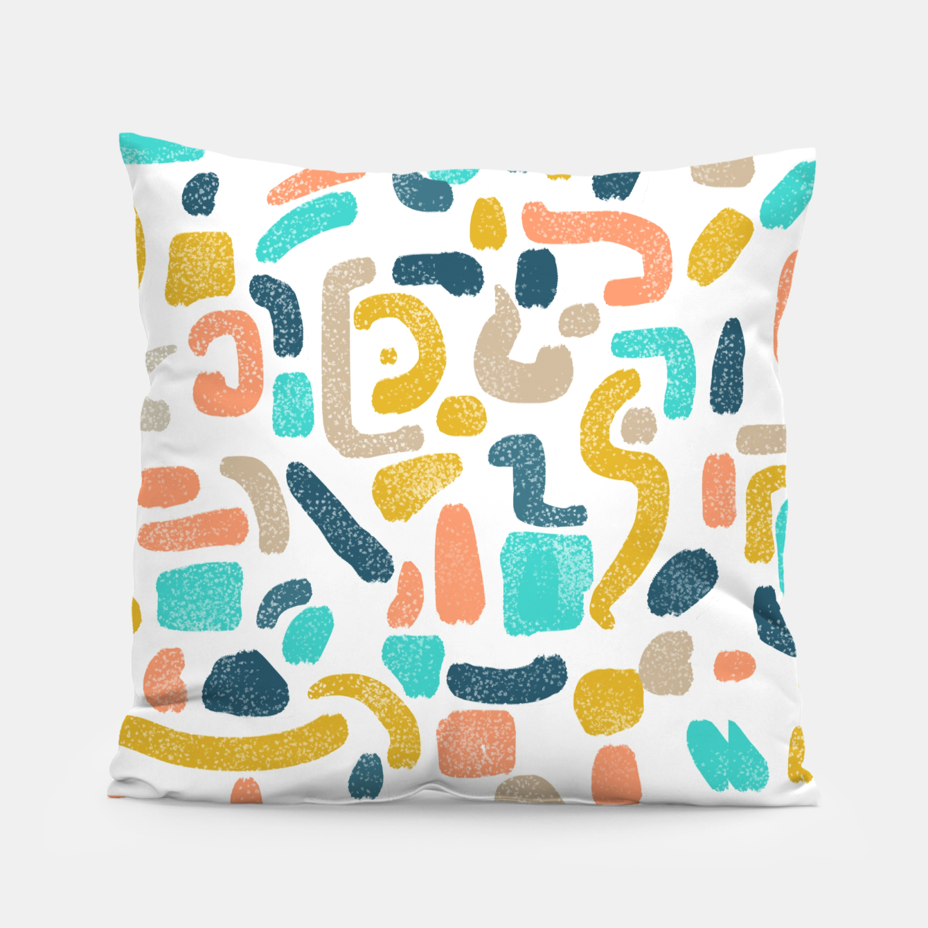 Image of Alphabet Soup Pillow - Live Heroes