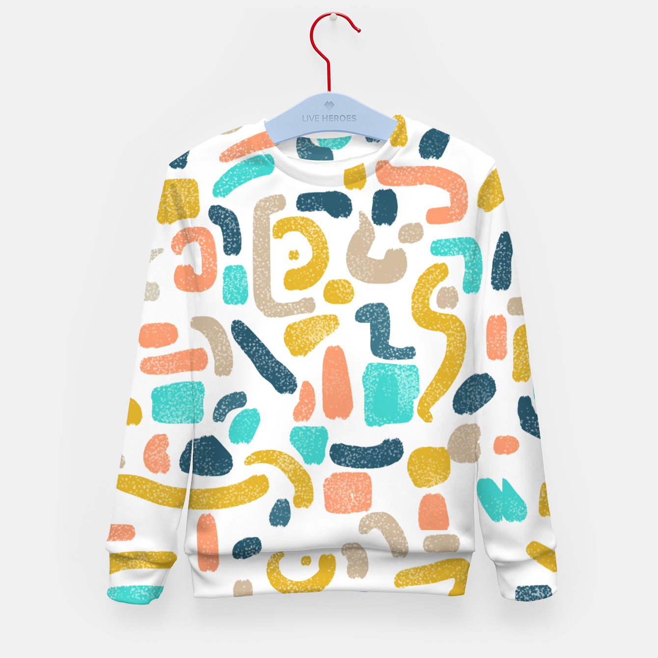 Image of Alphabet Soup Kid's sweater - Live Heroes