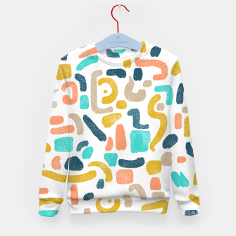 Thumbnail image of Alphabet Soup Kid's sweater, Live Heroes