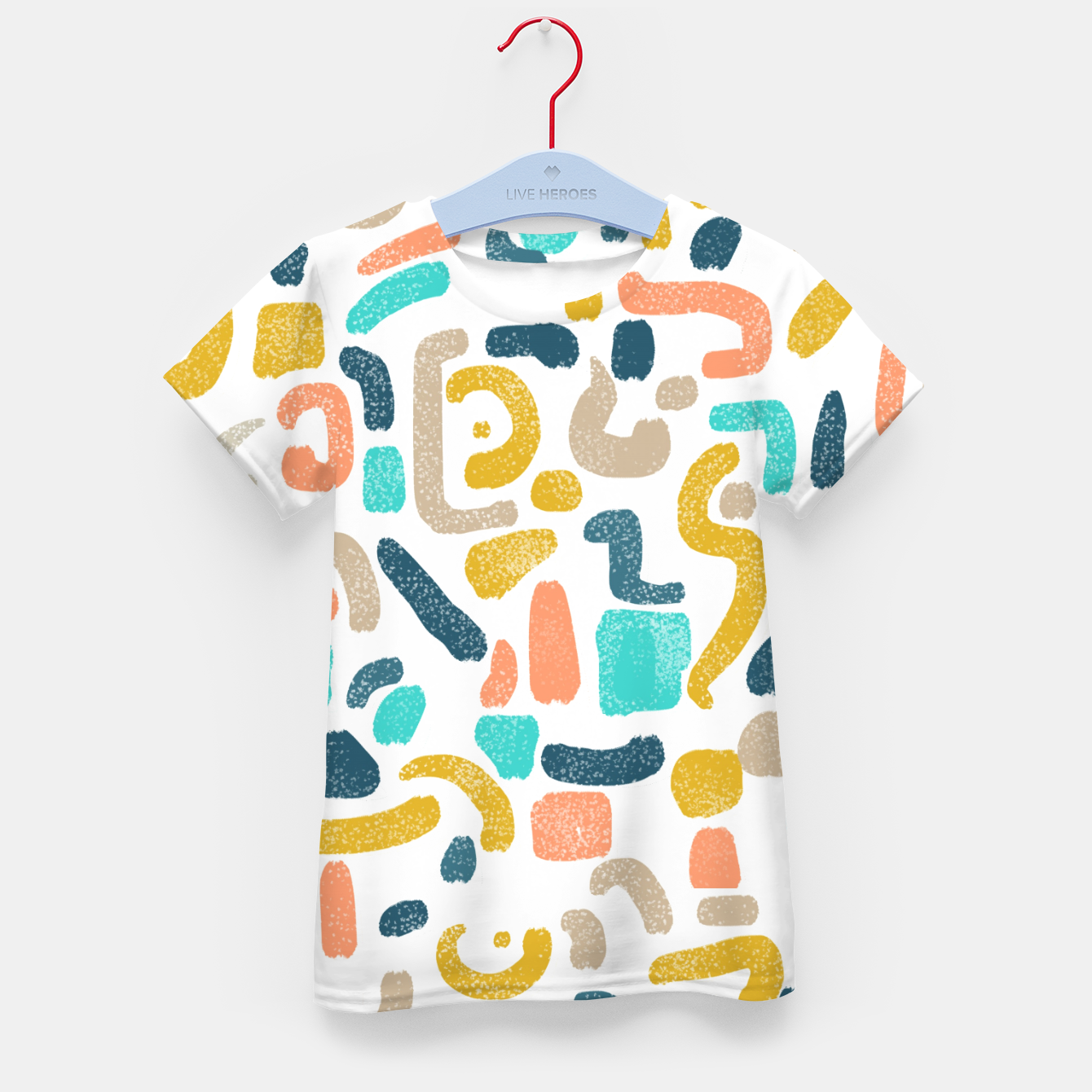 Image of Alphabet Soup Kid's t-shirt - Live Heroes