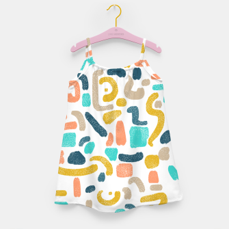 Miniatur Alphabet Soup Girl's dress, Live Heroes