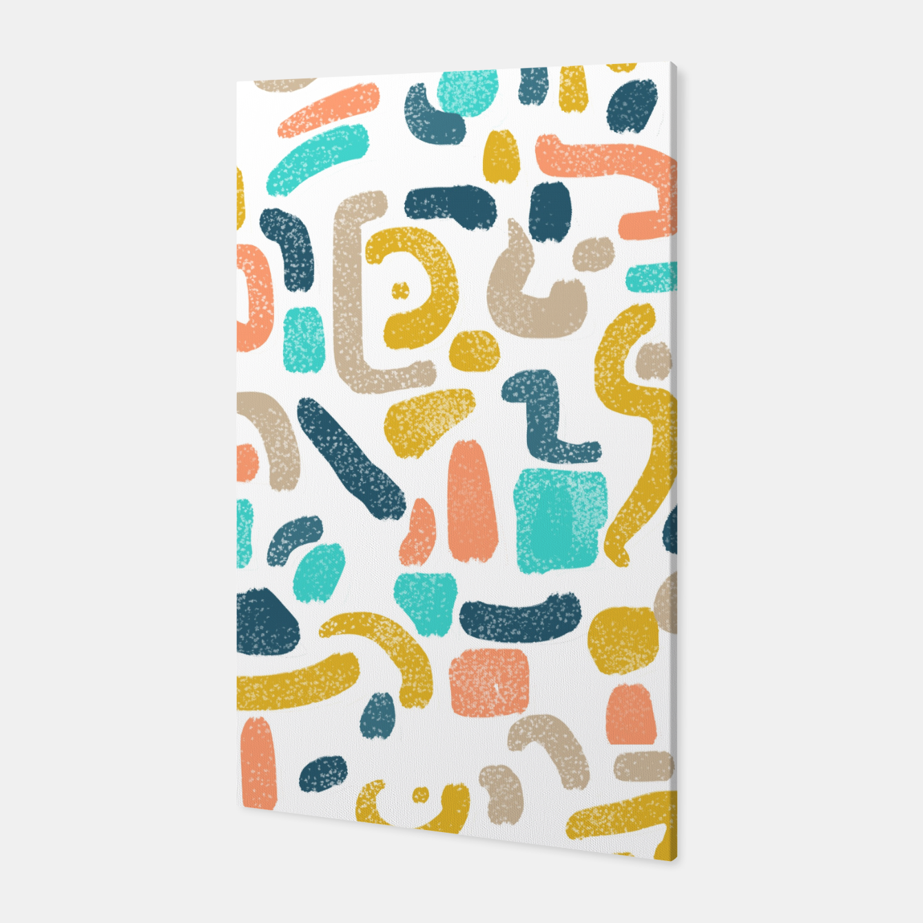 Image of Alphabet Soup Canvas - Live Heroes