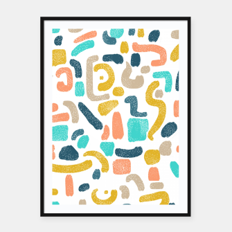 Thumbnail image of Alphabet Soup Framed poster, Live Heroes