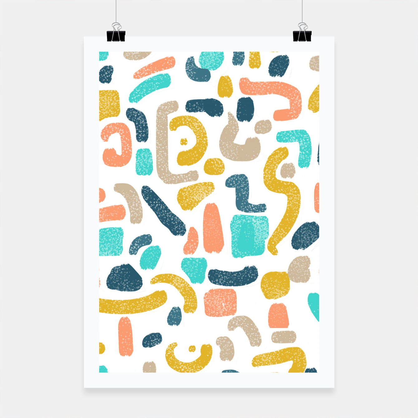 Image of Alphabet Soup Poster - Live Heroes