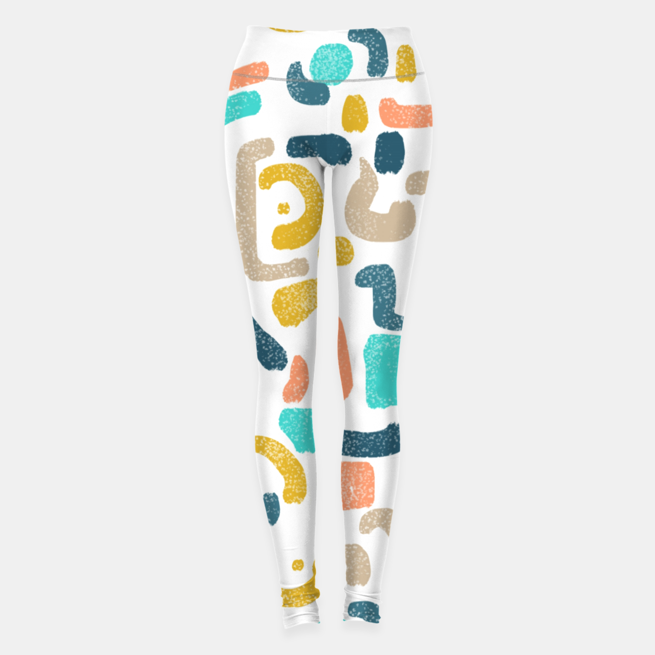 Image of Alphabet Soup Leggings - Live Heroes