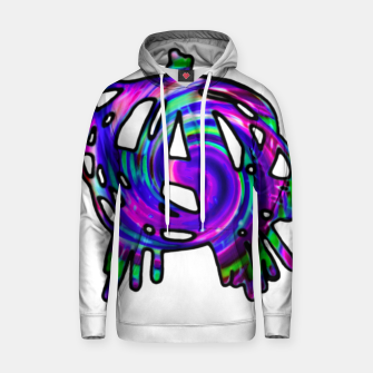 Miniatur abstract anarchy symbol hoody, Live Heroes