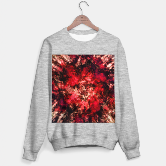Red burst Sweater regular thumbnail image