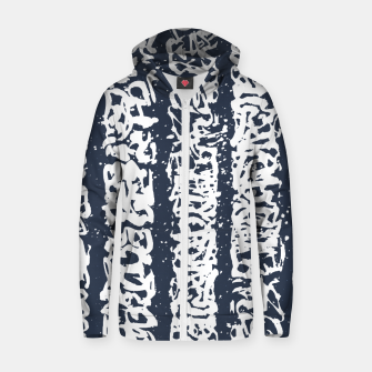 Unreadable Zip up hoodie thumbnail image