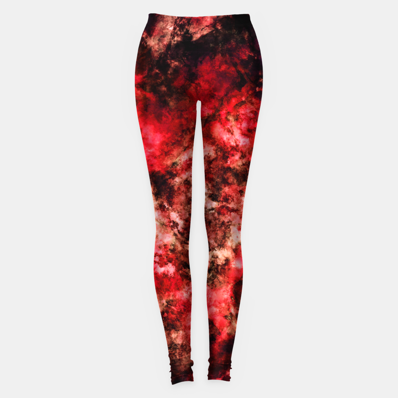 Image of Red burst Leggings - Live Heroes