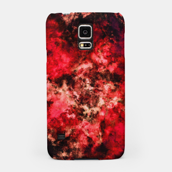 Thumbnail image of Red burst Samsung Case, Live Heroes
