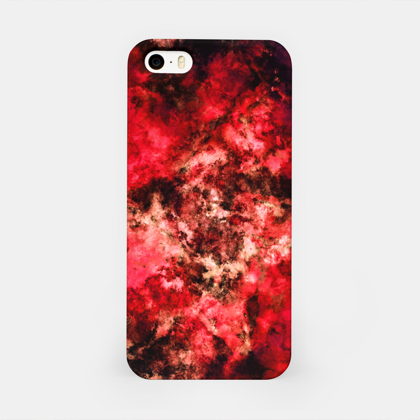 Image of Red burst iPhone Case - Live Heroes