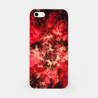 Red burst iPhone Case thumbnail image