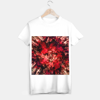 Red burst T-shirt regular thumbnail image