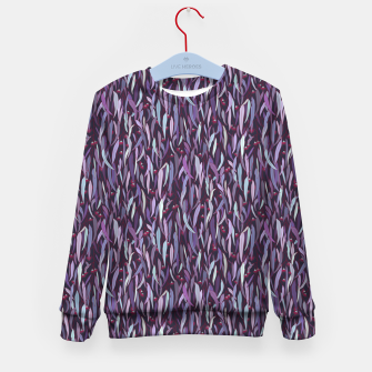 Thumbnail image of Midnight in the Eucalyptus Grove Kid's sweater, Live Heroes